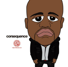 Consequence - Black Skinhead (Remix) Lyrics