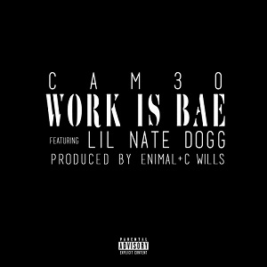 CAM30 -  Work is BAE Lyrics (Feat. Lil Nate Dogg)